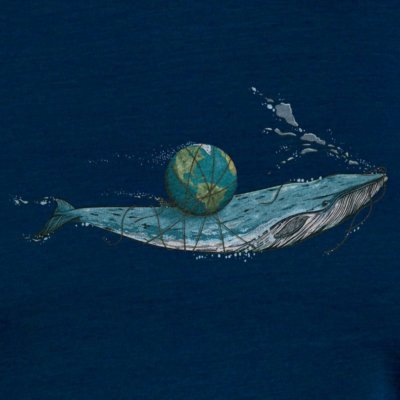 Robert Richter Save the Planet Whale navy