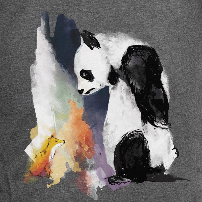 Life in Vanilla Panda & Fox charcoal grey