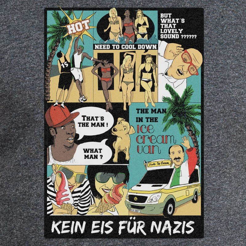 Kein Eis für Nazis designed by pants just need pockets