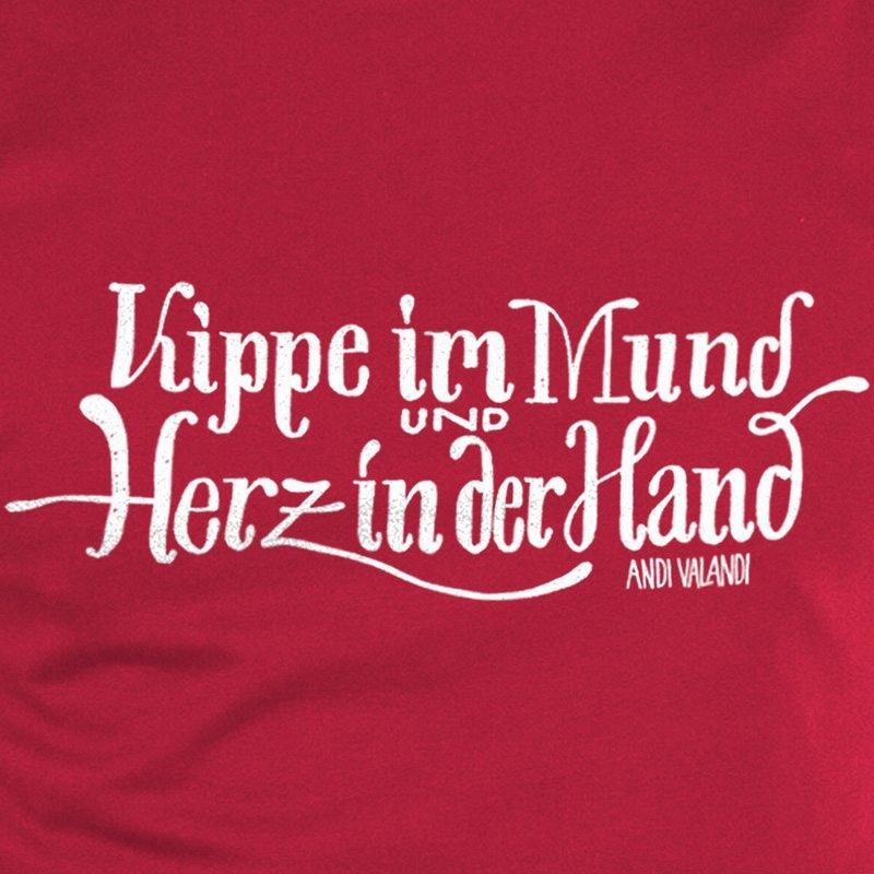 Lukas Adolphi Kippe im Mund - stereo red