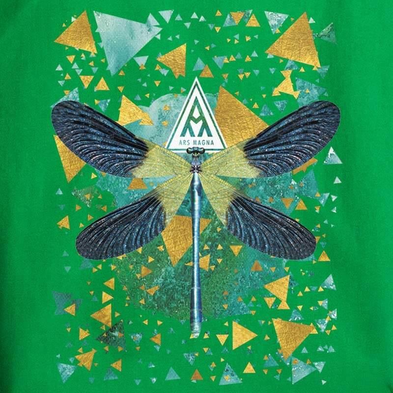 Ars Magna Emerald Dragonfly - kelly green