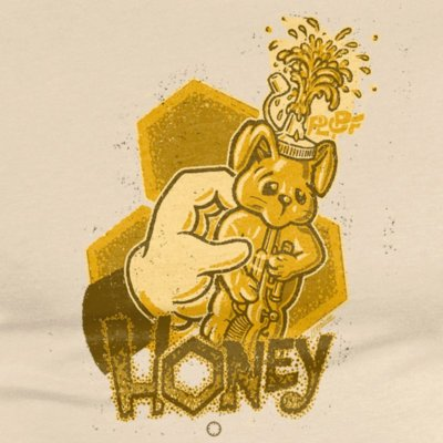 Douze Honey Mens Classic Cotton T-Shirt