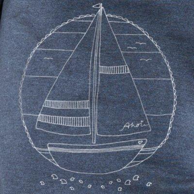 eregan - Ahoi Schiffchen - melange navy