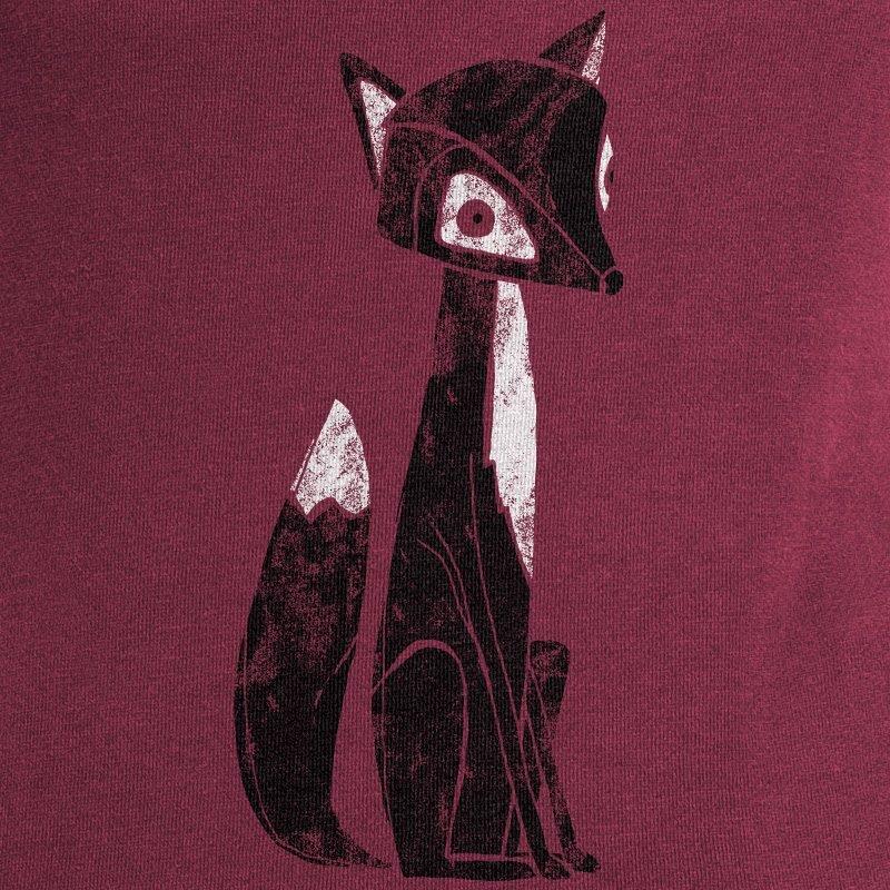 Keregan Lovely Fox claret red