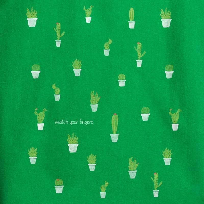 Keregan Kaktus - kelly green