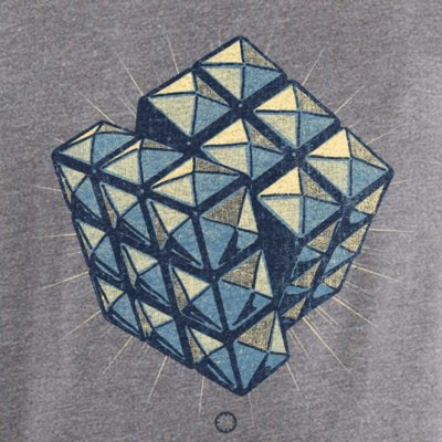 Douze Rock Cube melange grey
