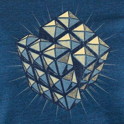 Douze Rock Cube mid washed indigo