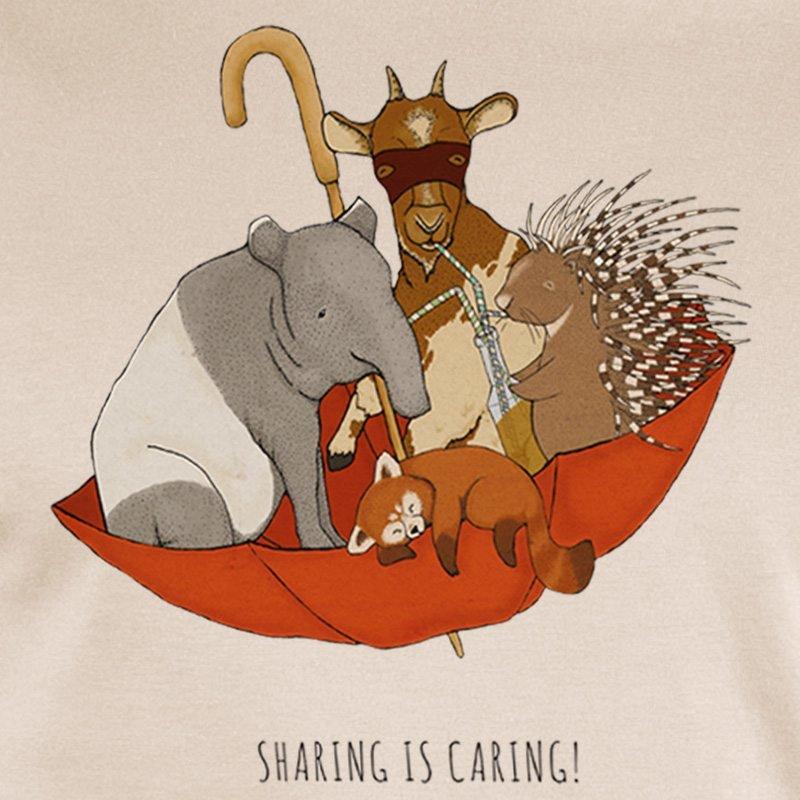 minttu - sharing is caring - linen