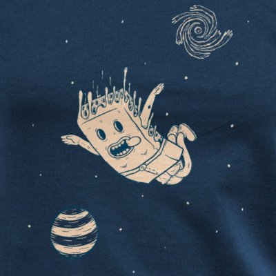 Pencake Space Cake navy