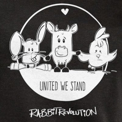 Rabbit Revolution United We Stand - black