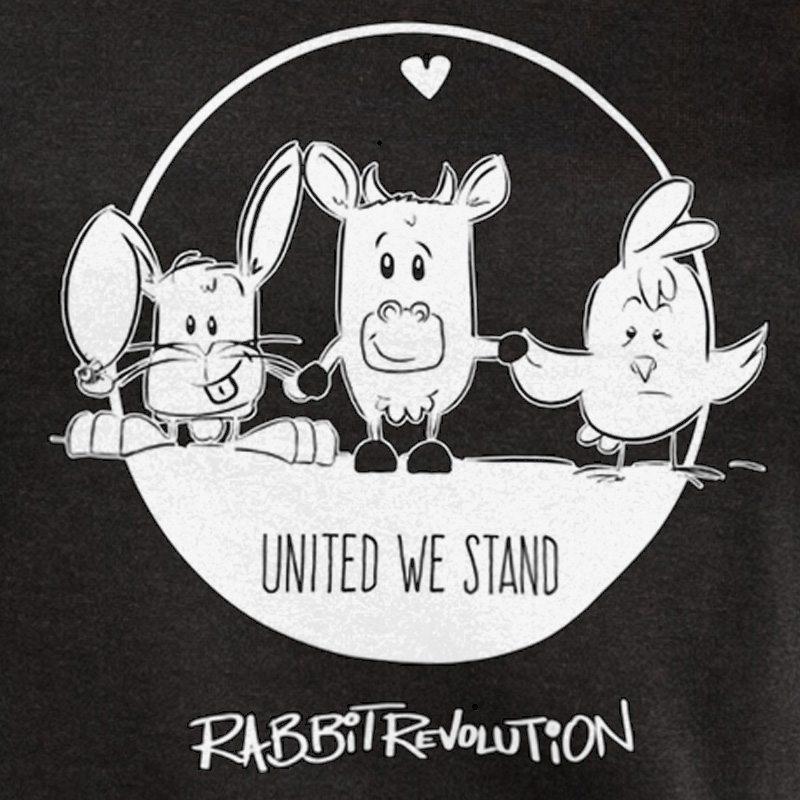 Rabbit Revolution United We Stand - black