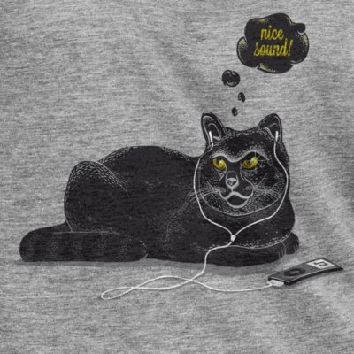 Robert Richter Chilling Cat melange grey