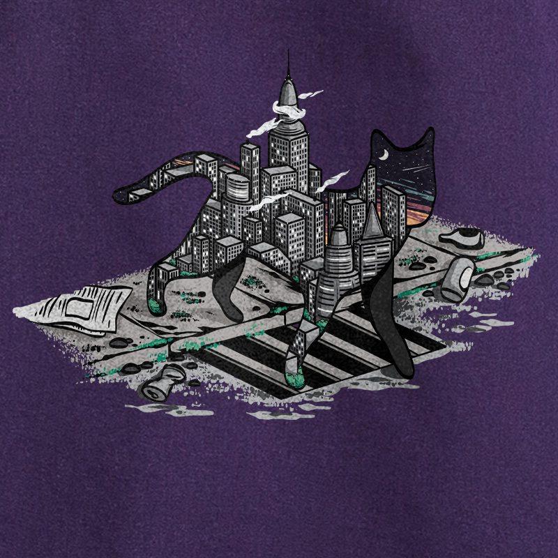 Robert Richter City Cat dark violet