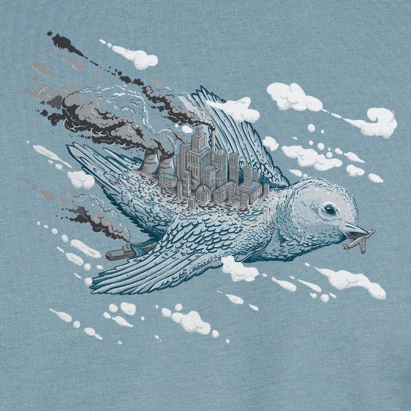 Robert Richter Clean the World Bird citadel blue