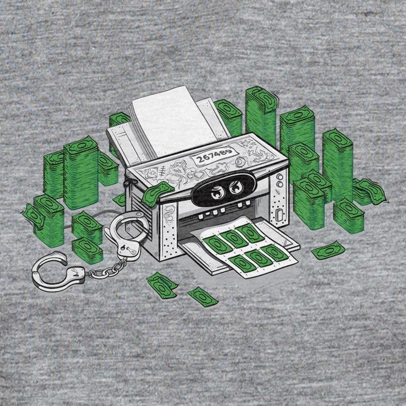 Robert Richter Criminal Printer melange grey