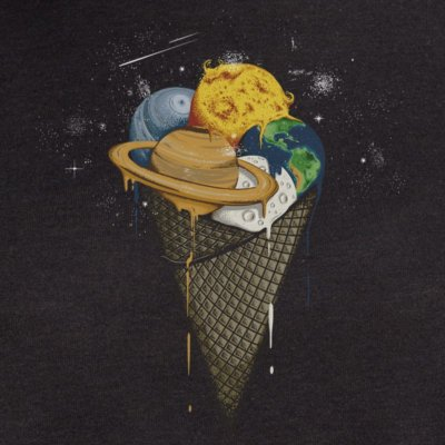 Robert Richter Galactic Ice Cream