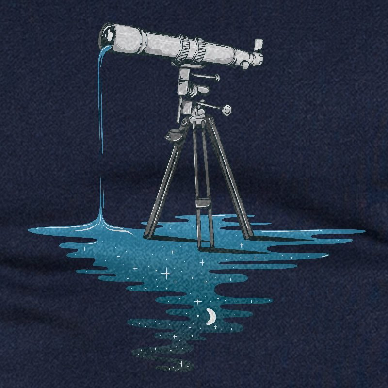 Robert Richter Liquid Universe navy