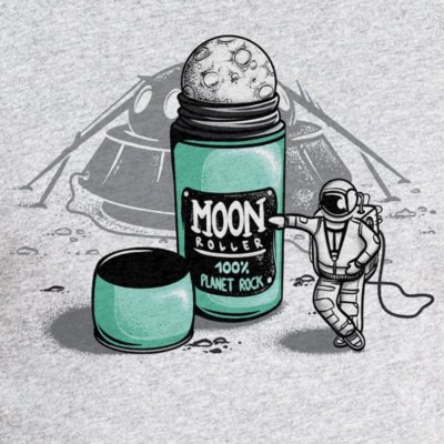 Robert Richter Moon Roller heather grey