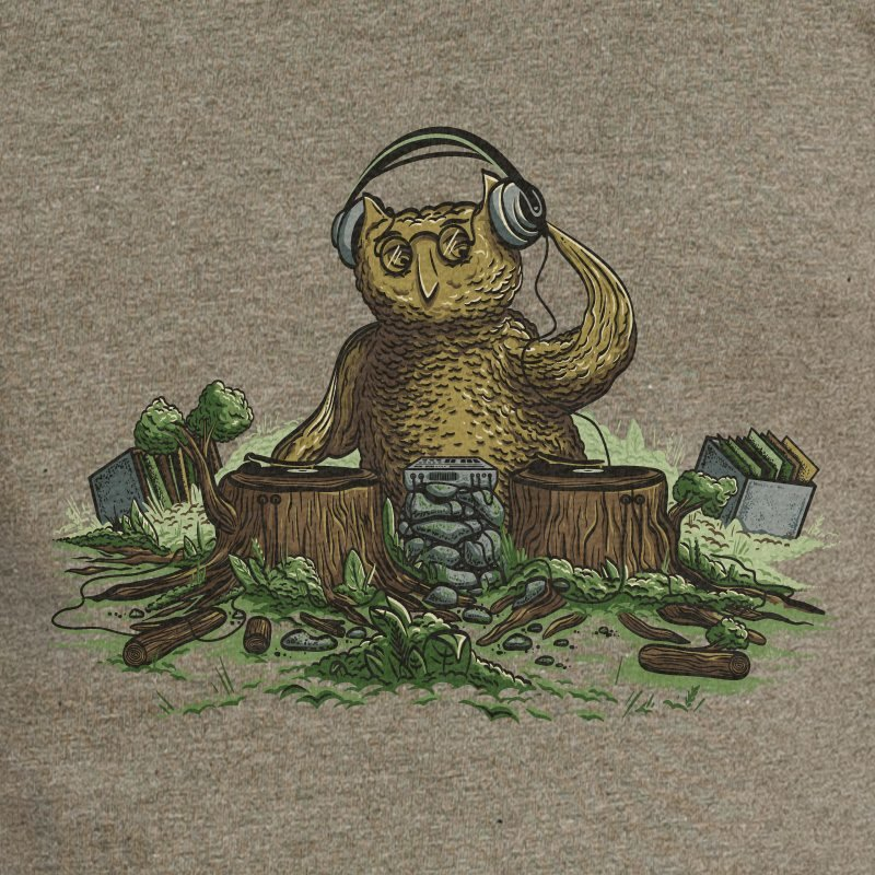 Robert Richter Natural Turntables mid heather khaki