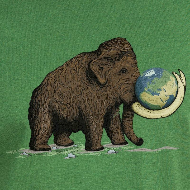 Robert Richter Save the Planet Mammoth leaf green