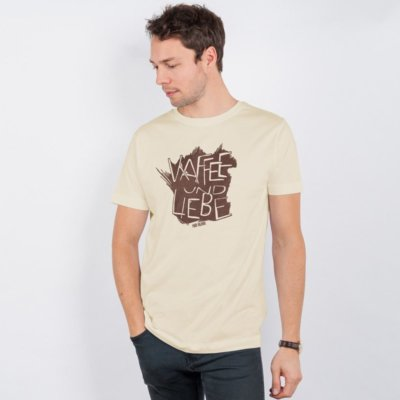 Lukas Adolphi Kaffee und Liebe Mens Classic Cotton T-Shirt