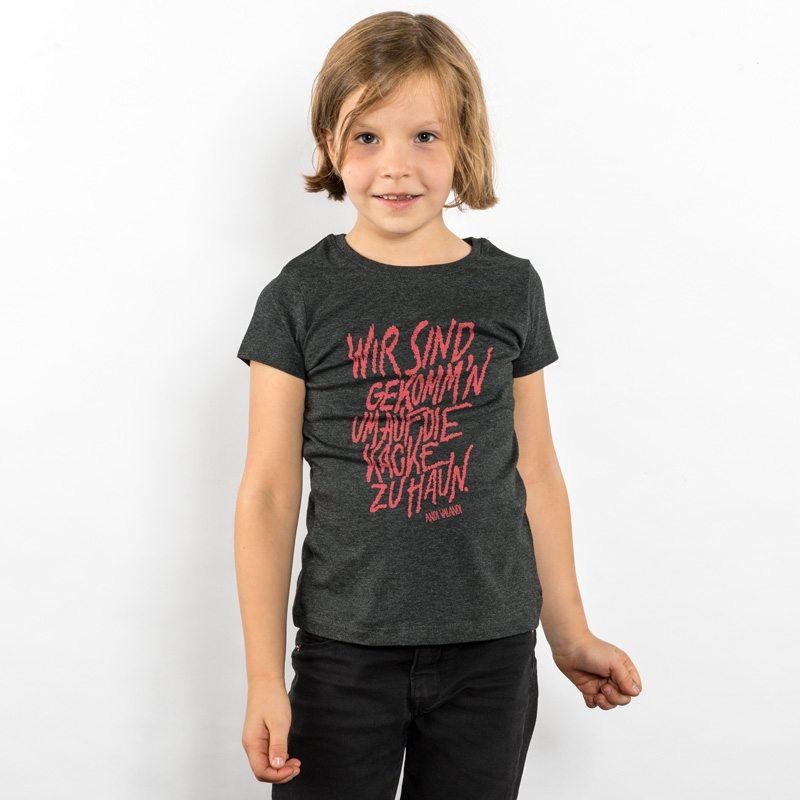 Lukas Adolphi Auf die Kacke hauen Girls Organic Cotton T-Shirt