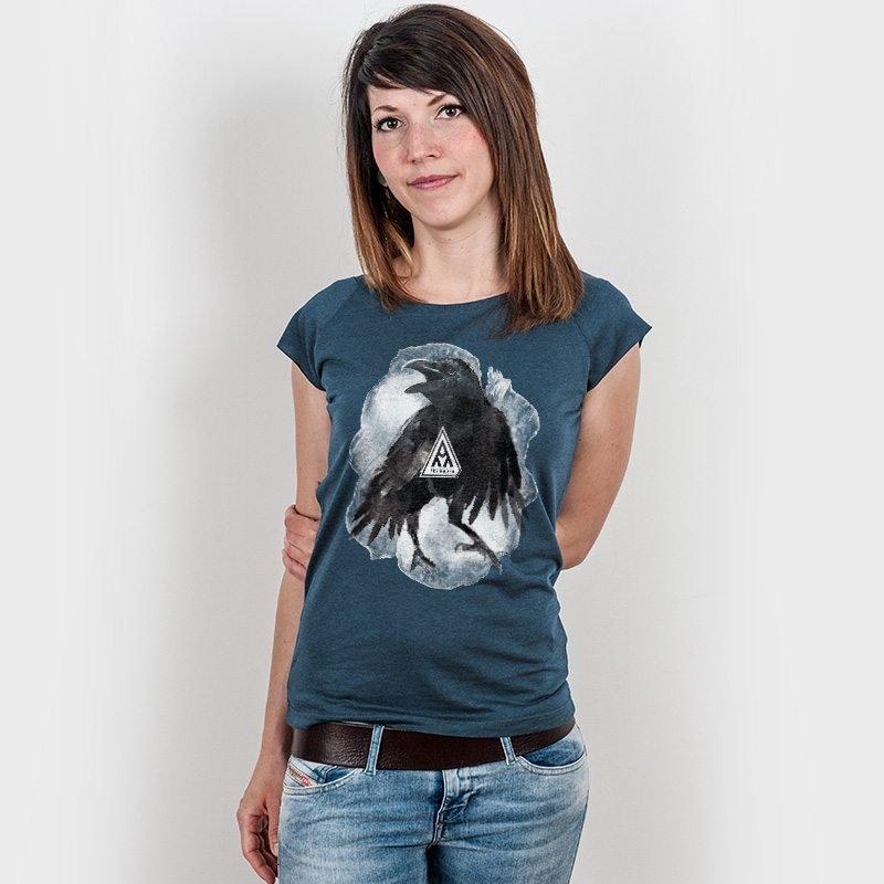 Ars Magna Crow Ladies Organic Bamboo T-Shirt