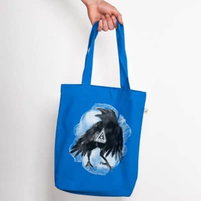 Ars Magna Crow Organic Low Carbon Fashion Bag