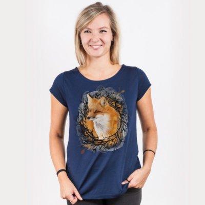 Ars Magna Twig'n Foxy Ladies Organic Modal T-Shirt