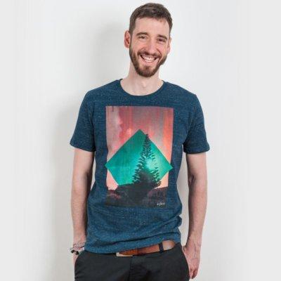 icificis Waihi Mens Organic Cotton T-Shirt