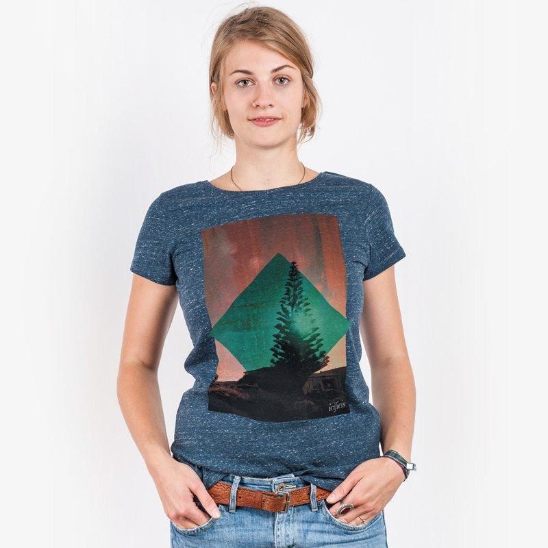 icificis Waihi Ladies Organic Round Neck T-Shirt