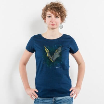 Julius Muschalek Nananananana Ladies Organic Denim Round Neck T-Shirt