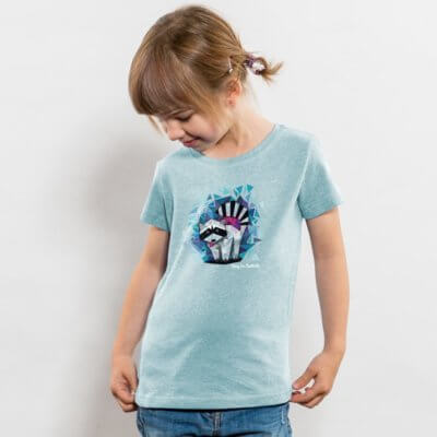 Julius Muschalek König der Stadtmitte Girls Organic Cotton T-Shirt