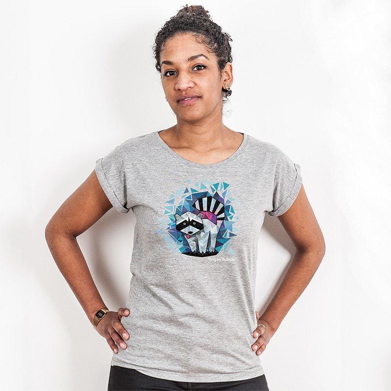 Julius Muschalek König der Stadtmitte Ladies Rolled-Sleeve T-Shirt