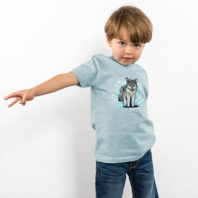 Julius Muschalek Wolf Boys Organic Cotton T-Shirt