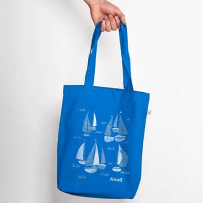 Keregan Schiff Ahoi Organic Low Carbon Fashion Bag