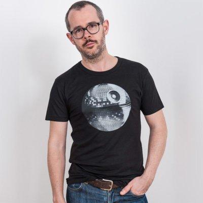 Douze Disco Star Mens Organic Bamboo T-Shirt