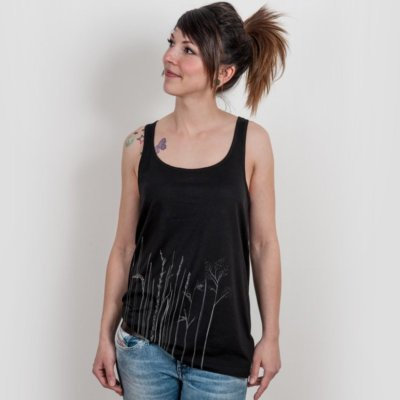 miinuc Corn Ladies Cotton Tunic Tank-Top