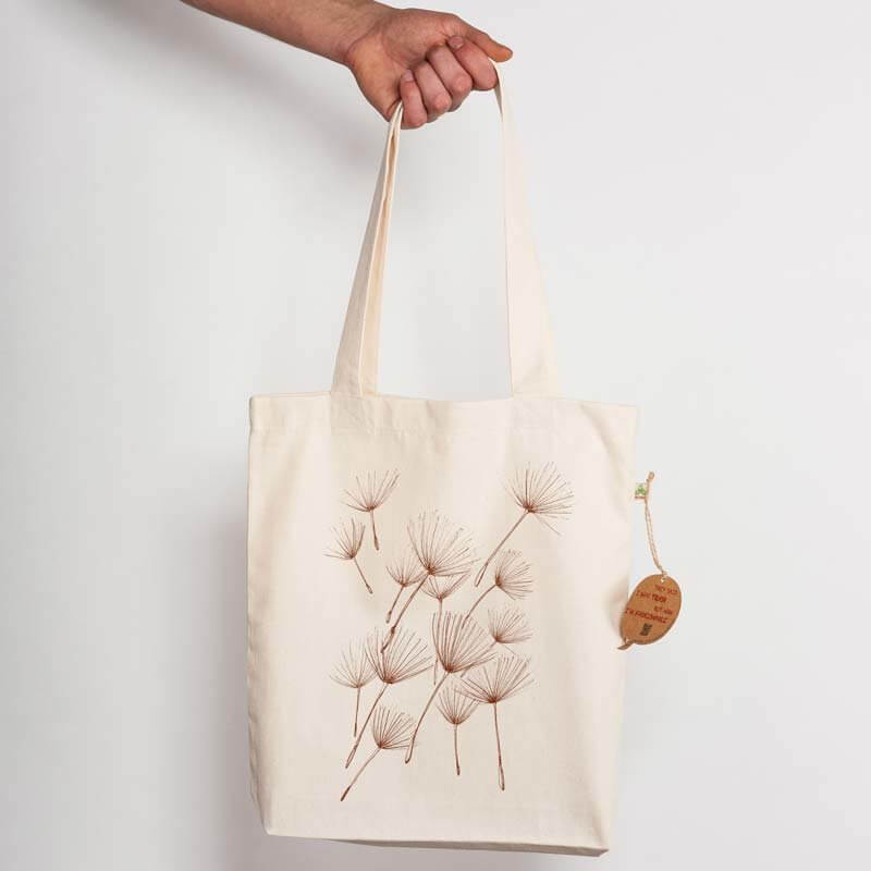 miinuc Pollen Recycled Natural Shopping Bag