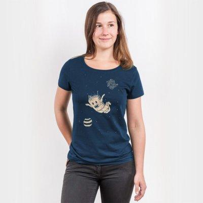 Pencake Space Cake Ladies Organic Cotton T-Shirt