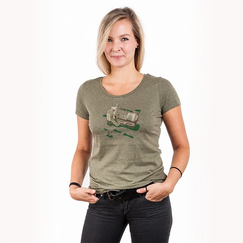 Robert Richter Cam Suite Ladies Lightweight Organic Cotton T-Shirt