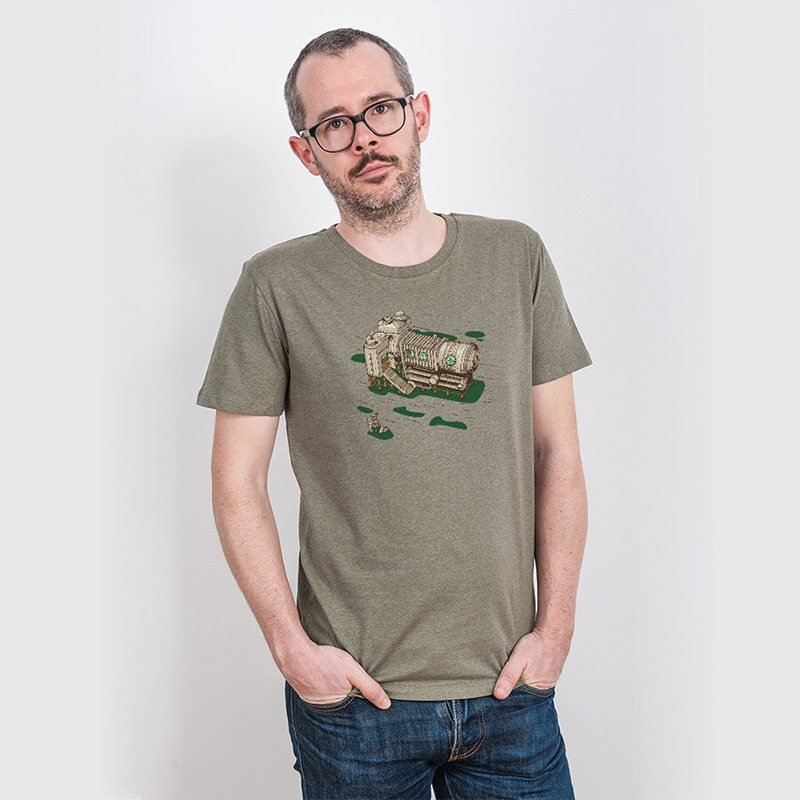 Robert Richter Cam Suite Mens Organic Cotton T-Shirt