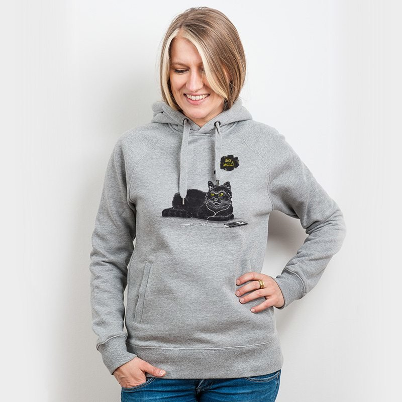 Robert Richter Chilling Cat Ladies Hooded Sweatshirt