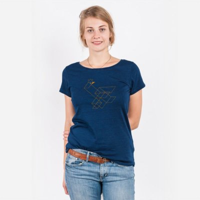 Robert Richter Duckson Ladies Organic Denim Round Neck T-Shirt