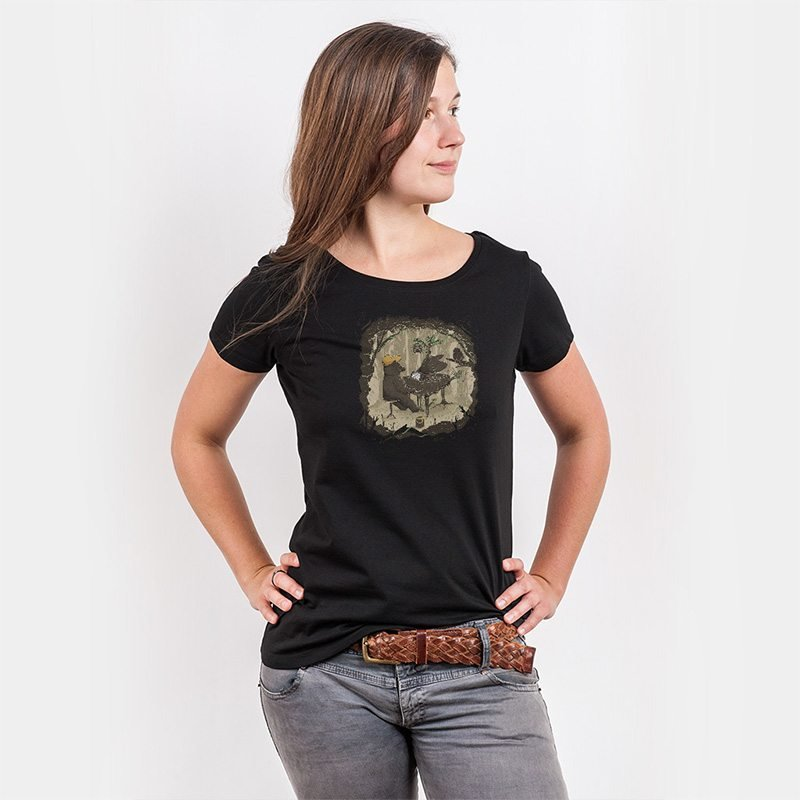 Robert Richter Forestal Sounds Ladies Organic Round Neck T-Shirt