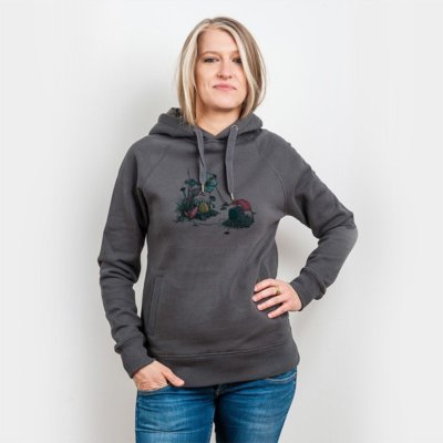 Robert Richter Free TV Ladies Hooded Sweatshirt