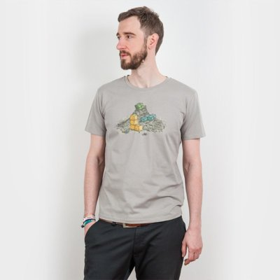 Robert Richter Game Legends Mens Organic Cotton T-Shirt