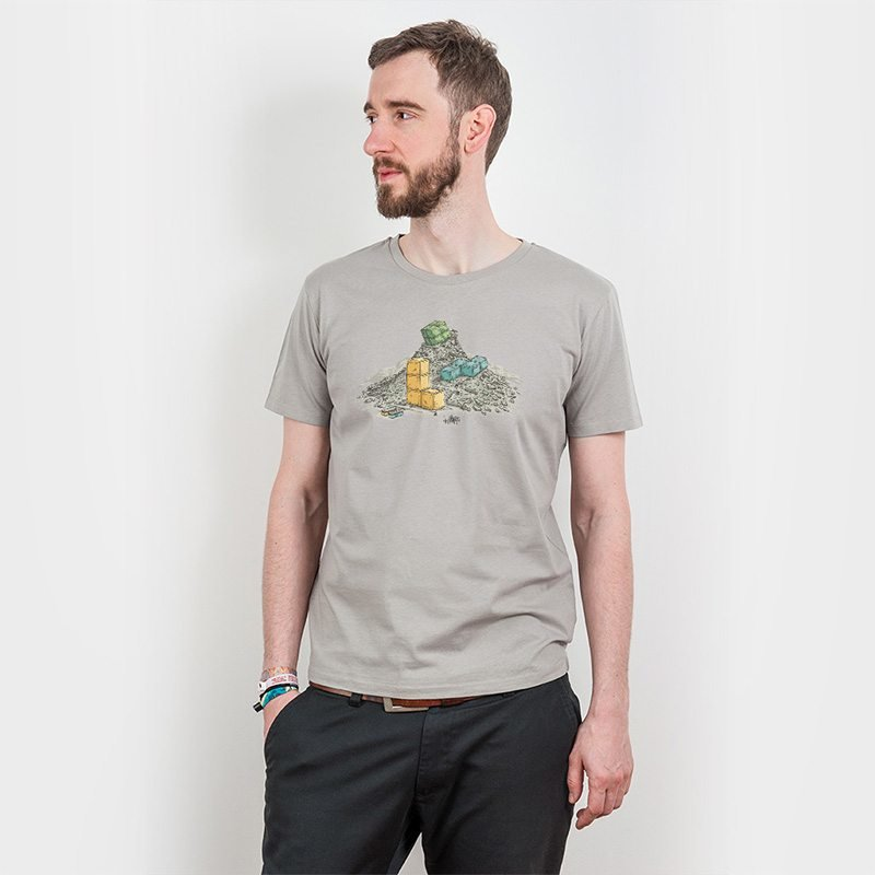 Robert Richter Game Legends Mens Organic Cotton T-Shirt