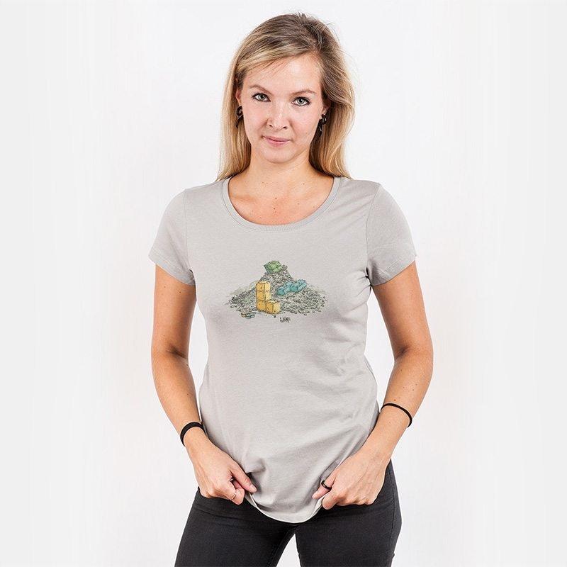 Robert Richter Game Legends Ladies Organic Round Neck T-Shirt