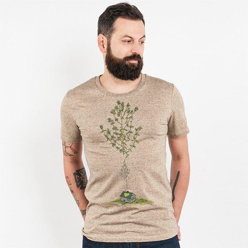 Robert Richter Green House Mens Organic Cotton T-Shirt